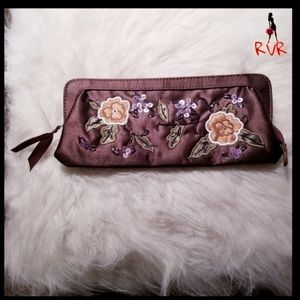 VINTAGE EMBROIDERED EVENING CLUTCH W/ SEQUINS